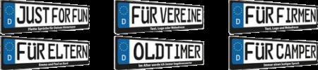 Kennzeichenhalter_Uebersicht
