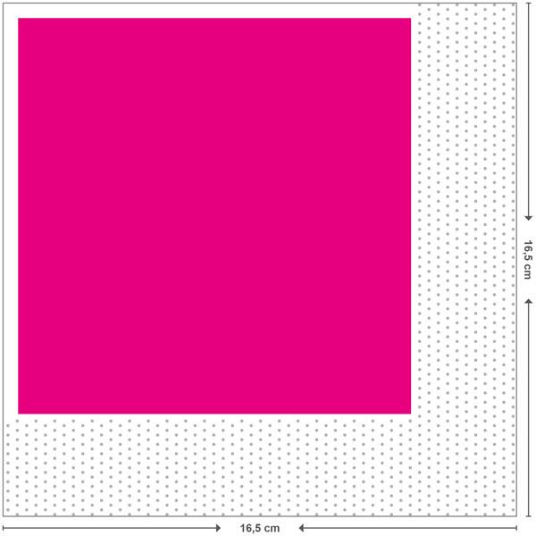 Gefaltetes Endformat 16,5x16,5 cm